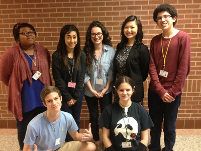 The Mansfield High School ACADEC Team at the 2013 Regional Competition