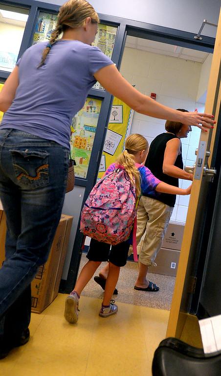 PHOTOS: Erdenheim Elementary School's first day back
