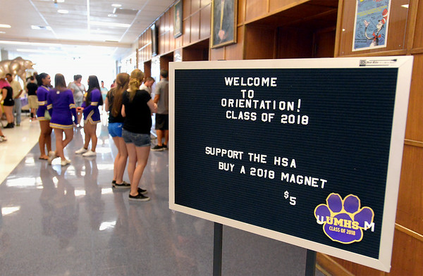 PHOTOS: Upper Moreland High School hosts orientation for freshmen, parents