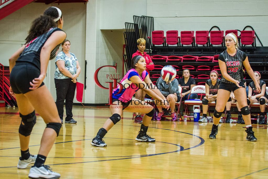 SCHS Vs Dunbar VolleyBall 2015