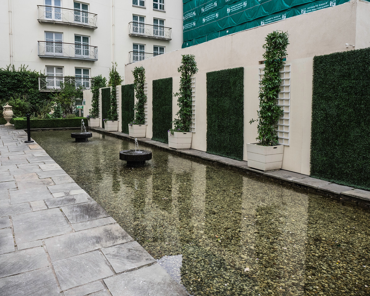 Garden of the Merrion Hotel - Dublin, Ireland