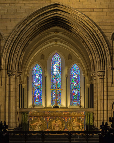 Altar - St. Patrick's Cathedral - Dublin, Ireland