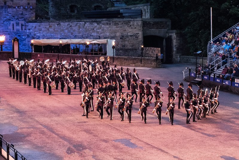 Edinburgh Tattoo  His Majesty the Kings Guard - Norway. Band, Bugle Corps and Drill Corps