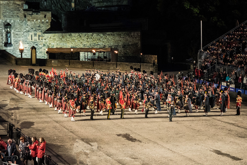Edinburgh Tattoo Scottish Regimental Bands