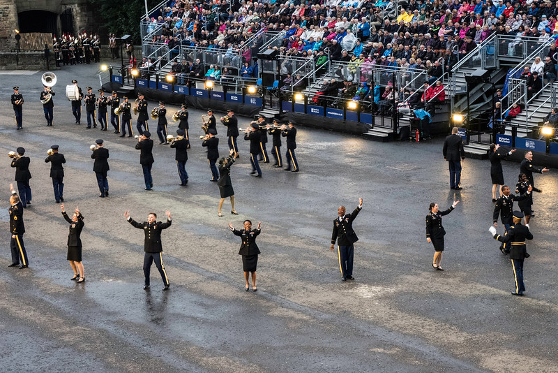Edinburgh Tattoo US Army Europe Band and Chorus