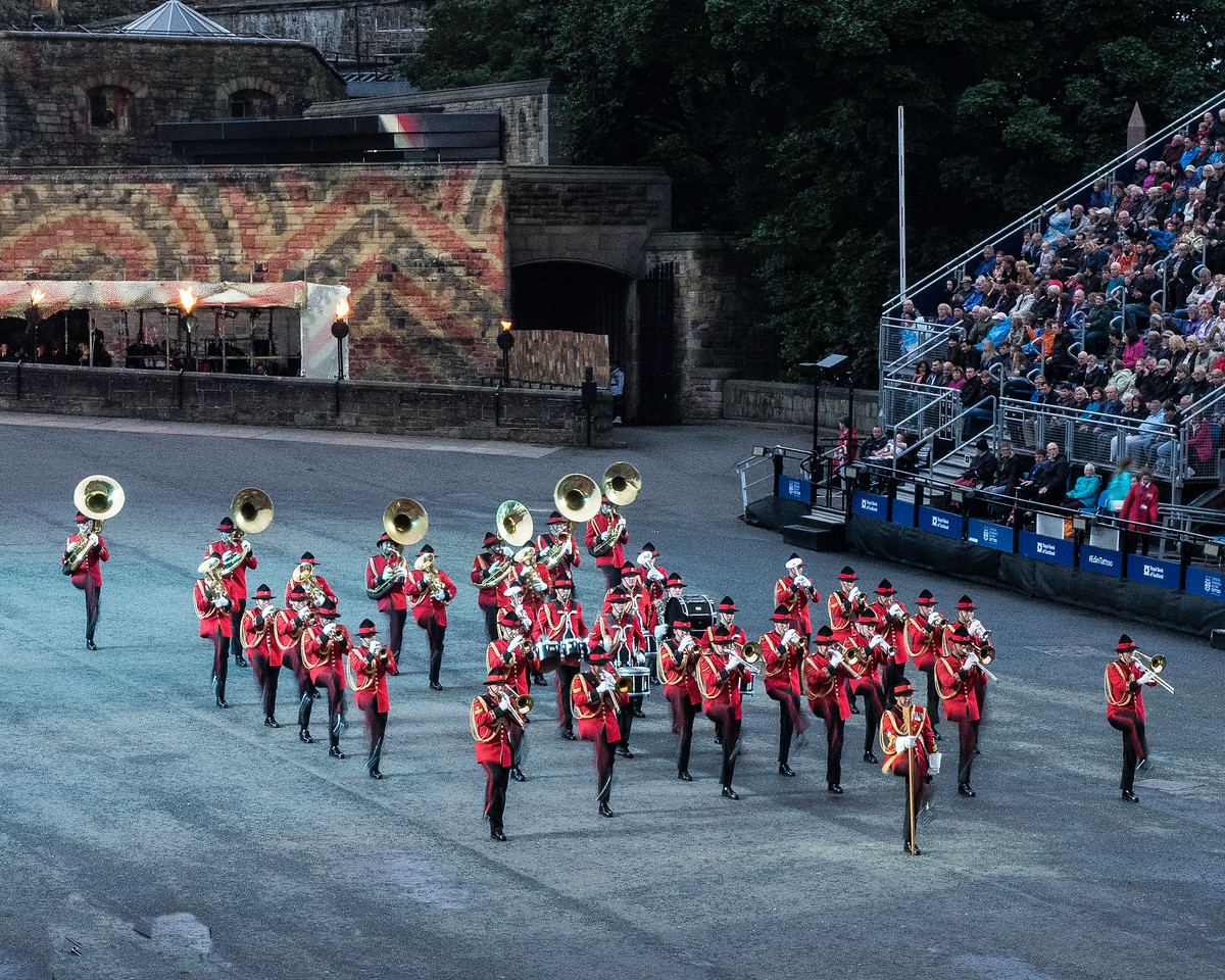 Edinburgh Tattoo. New Zealand Army Band Commemorating New Zealanders Lost in The Great War