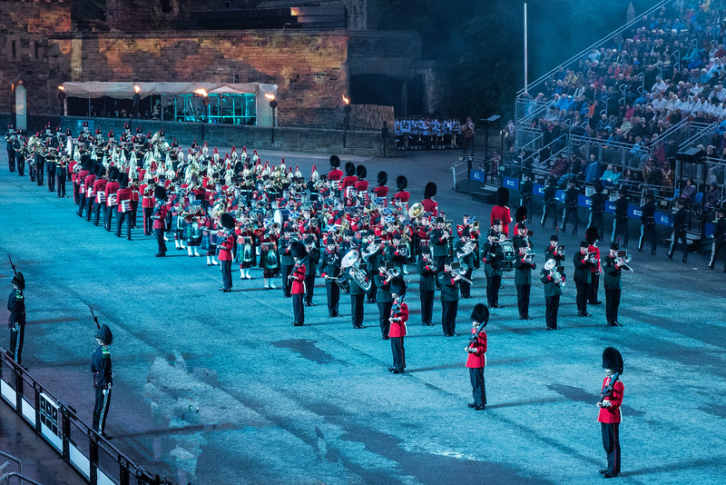 Edinburgh Tattoo  UK Groups