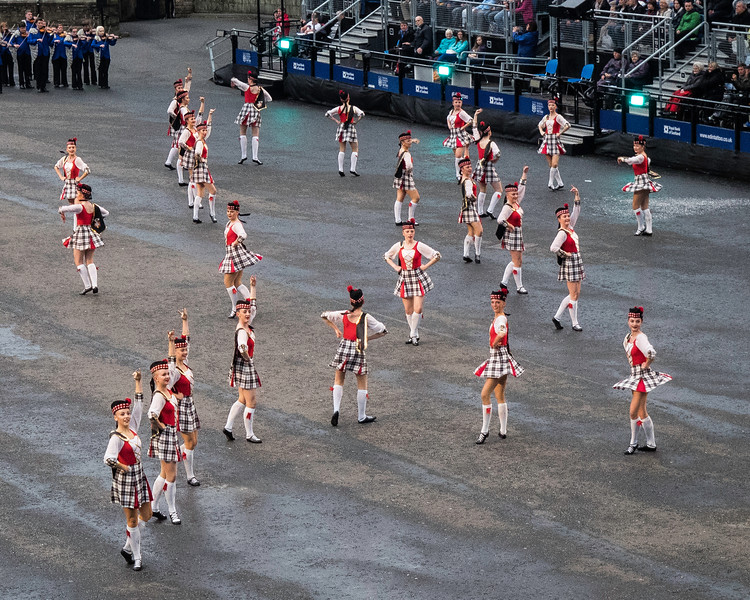 Edinburgh Tattoo. Highland Dancers
