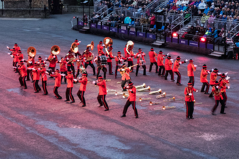 Edinburgh Tattoo. New Zealand Army Band - Maori Ceremony