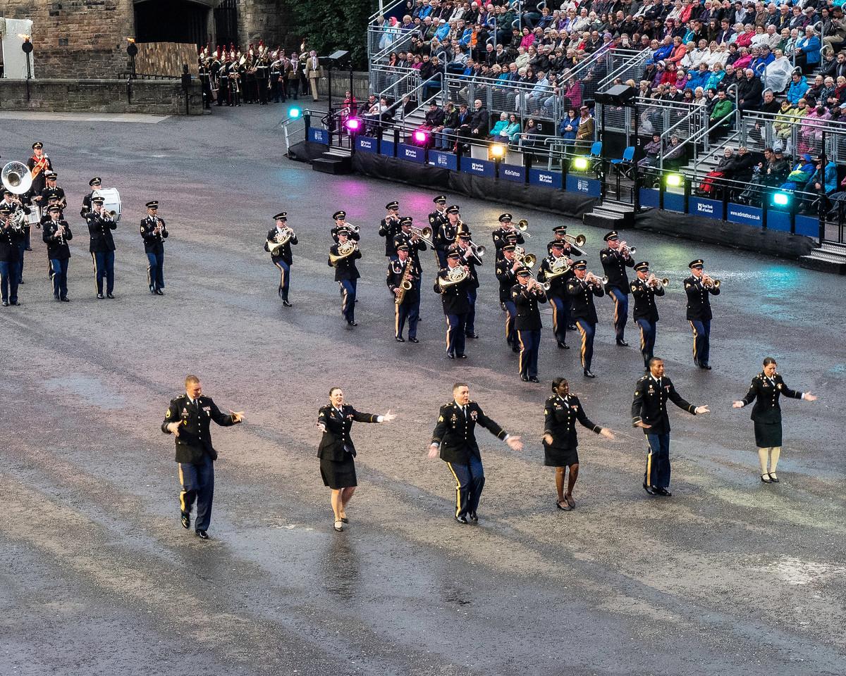 Edinburgh Tattoo US Army Band  and Singers