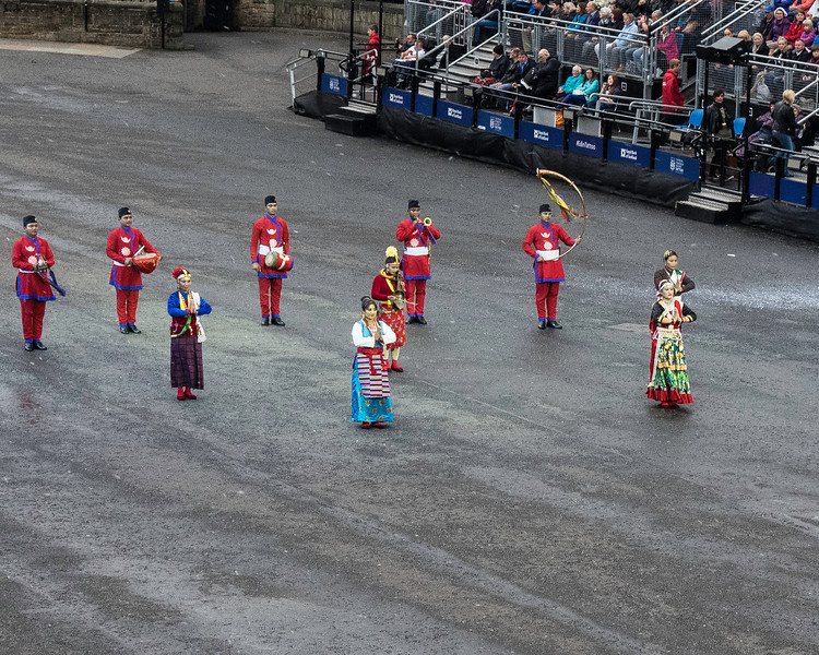Edinburgh Tattoo. NepaliArmy Band Introduction