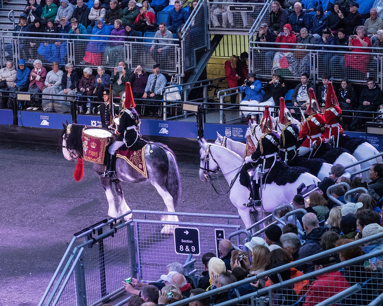 Edinburgh Tattoo  Queen's Household Cavalry