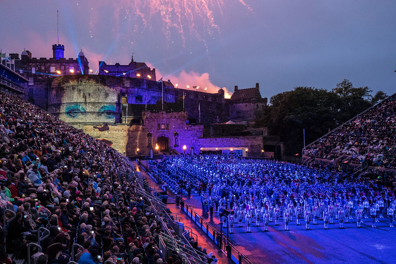Edinburgh Tattoo  Tribute to David Bowie