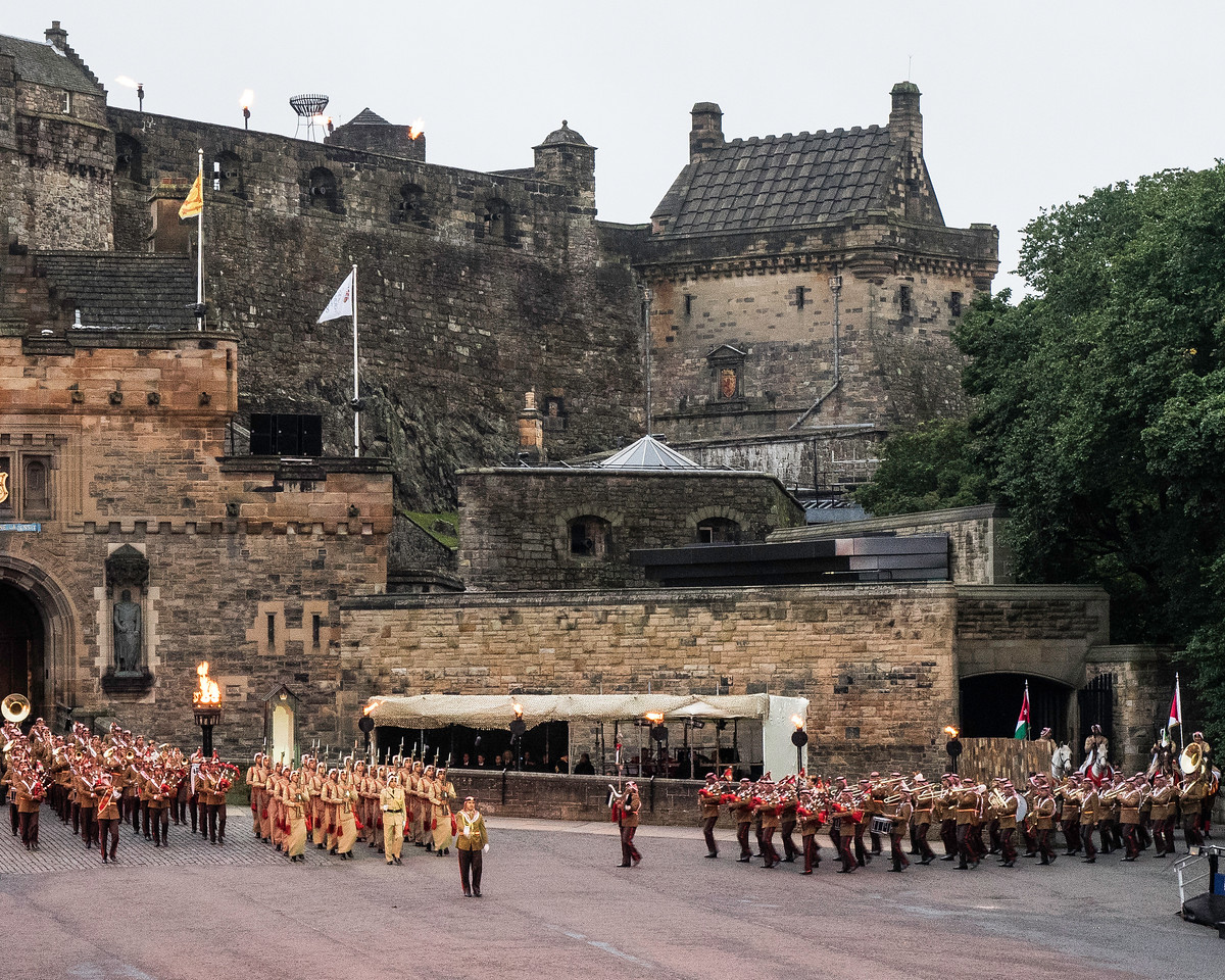 Edinburgh Tattoo Band of the Royal Jordanian Armed Forces and Drill Team - Celebrating  the Great  Arab  Revolt - Lawrence of Arabia