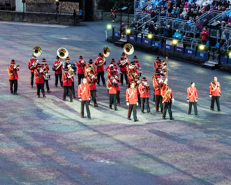 Edinburgh Tattoo New Zealand Army Band