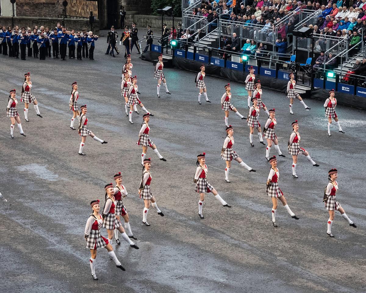 Edinburgh Tattoo. Tattoo Highland Dancers