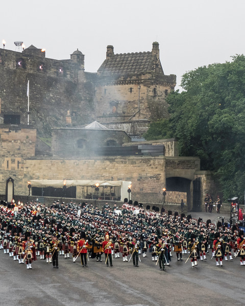 Edinburgh Tattoo Entry of the Massed Pipes and Drums