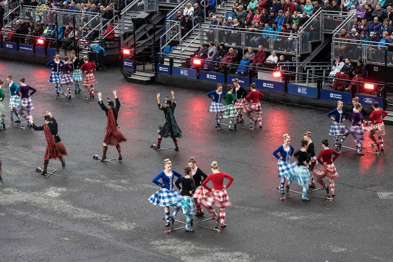 Edinburgh Tattoo. Highland Dancers