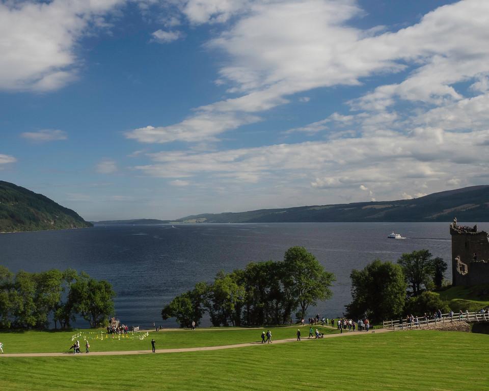 Loch Ness from Urquhart Castle