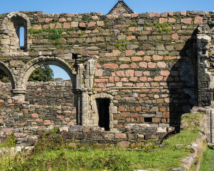Iona ruins of Augustinian Nunnery
