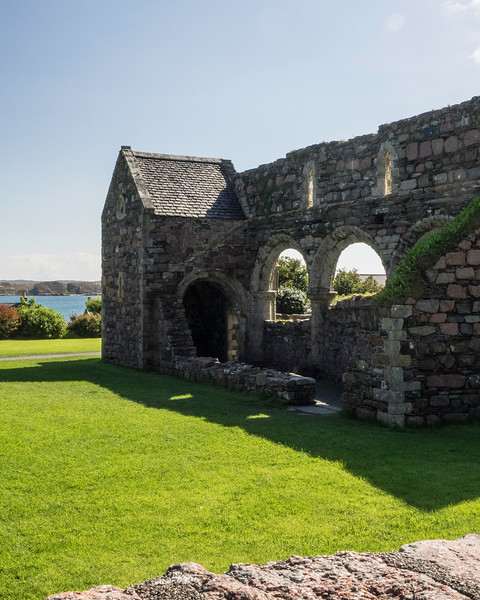 Iona Augustinian Nunnery ruins