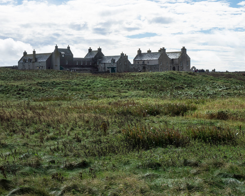 Orkney - Skail House from Skara Brae 17 th. Century