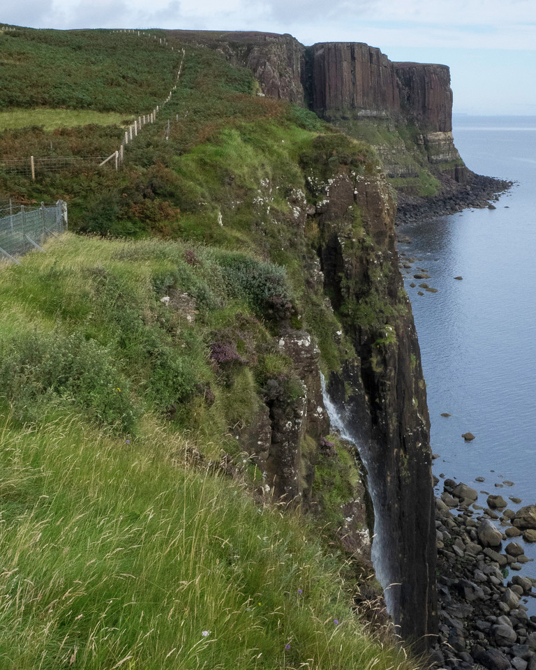 Isle of Skye - Mealt Waterfall  Next to Northern end of Giant's Causeway