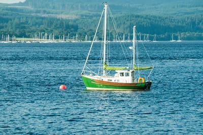 Boat, Loch Creran