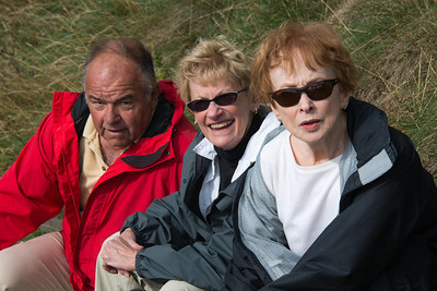 Tourists Rest on Arthur's Seat