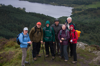 Seven HIkers on Ben A'an