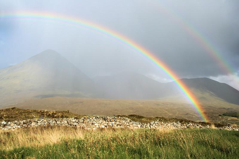 Rainbow, Cuillen Hills, Isle of Skye