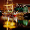 'Tall Ship'<br /> 29 January 2012<br /> The Glenlee moored at the Riverside transport museum.<br /> Govan, Glasgow, Scotland