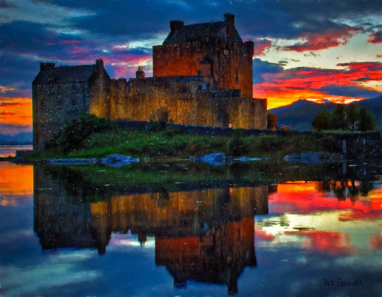 Eilan Donan Castle, Scotland #2