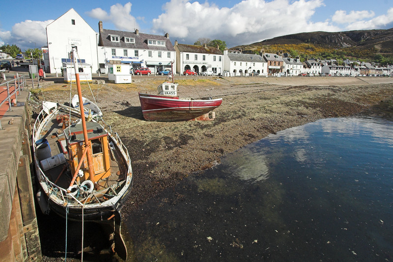 Ulapool Harbour, West coast
