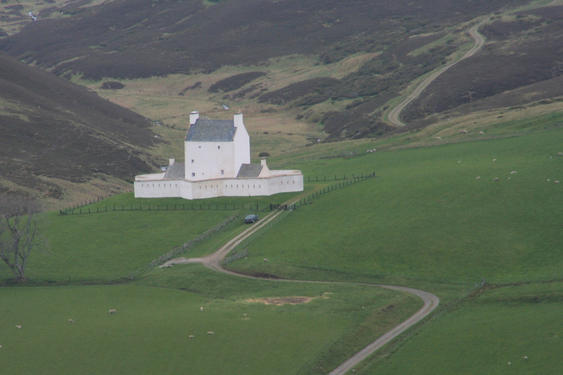 Corgarff Castle in the Craingorm Mountains
