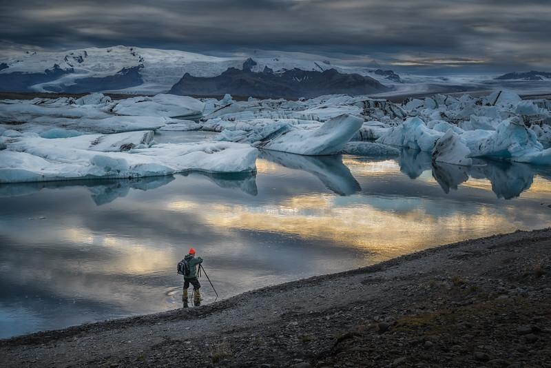 Jokulsarlon Glacier Lagoon-Iceland