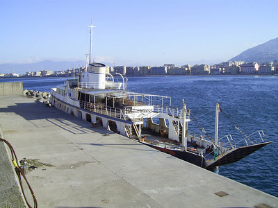 F/B CAMPANIA SECONDA definitely laid up in Castellammare di Stabia.