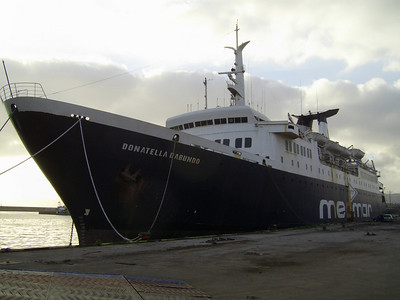F/B DONATELLA D'ABUNDO laid up in Napoli.