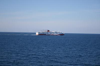F/B EROTOKRITOS T sailing from Brindisi to Igoumenitsa - Patra.