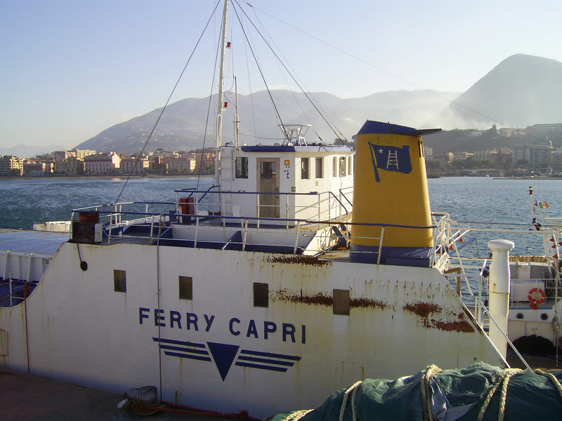 F/B FERRY CAPRI laid up in Castellammare di Stabia.