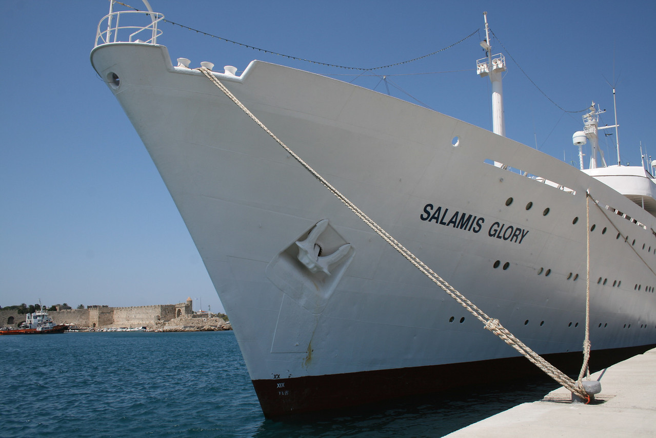 2009 - SALAMIS GLORY in Rodos.