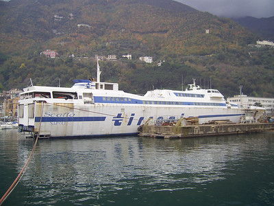 2009 - HSC SCATTO laid up in Castellammare di Stabia.