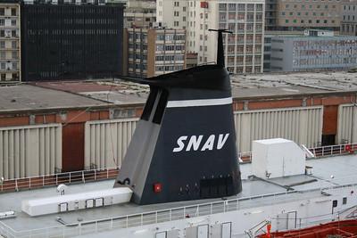 F/B SNAV CAMPANIA : the funnel.