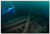 Daniel Lyons - Lake Michigan, 95 Ft. Deep Lat. 44 40.14 N Long. 87 17.42 W Built: 1873 Sank: October 18, 1878