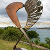 BRAD McDONALD  SCULPTURE BY THE SEA OFFICIAL OPENING 201610200274