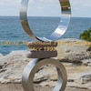 BRAD McDONALD  SCULPTURE BY THE SEA OFFICIAL OPENING 201610201143
