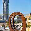 BRAD McDONALD SCULPTURE ON THE WHARF 201702230250