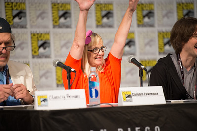 Comic-Con 2017, Tom Kenny Voice of Spongebob Square Pants, Bill Fagerbakke voice of Patrick Star