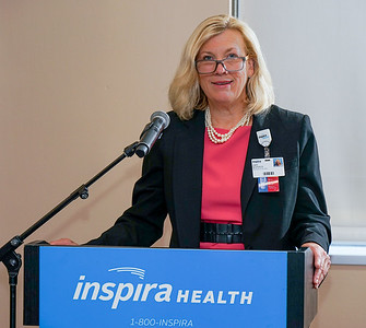 Ribbon cutting ceremony of the retail pharmacy at Inspira Medical Center Vineland