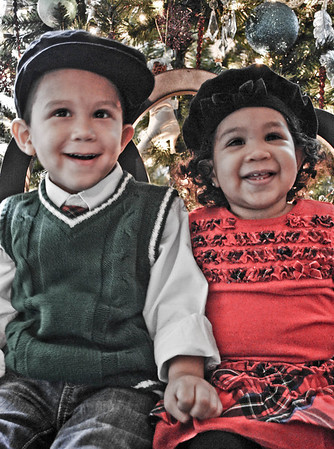 Angela/Mahlon Family Christmas 2009
